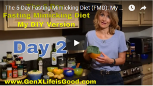 The Fmd All Nutrients Provided By The Fresh Food Im Consuming And I Show You What I Will Be Eating On Day 2 Of The Fasting Mimickingt