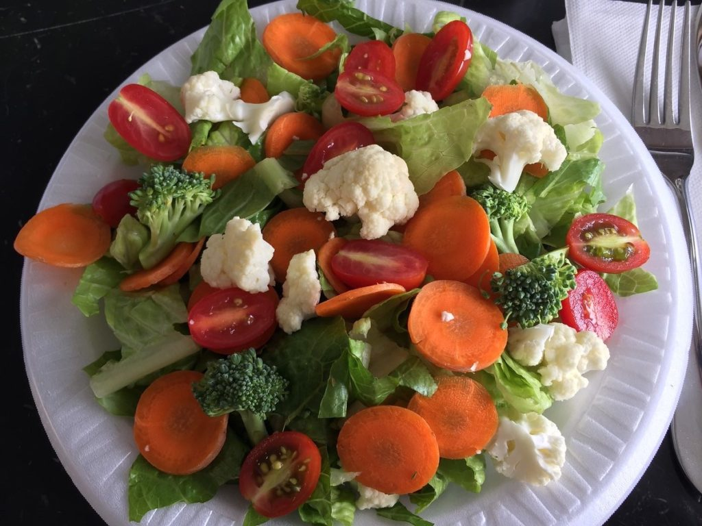 Lunch FMD Day 1: Mixed Salad