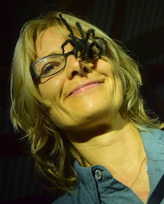 Yes, that's a TARANTULA!! (The itsy bitsy spider...)