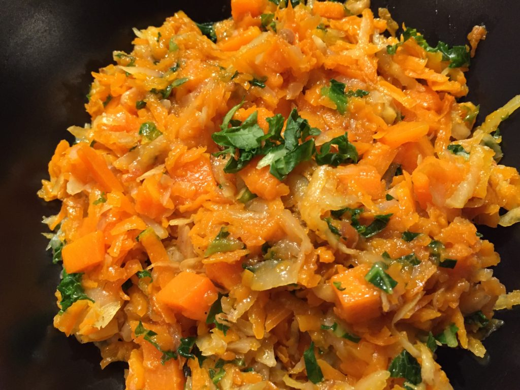 Dinner FMD Day 4: Butternut Squash and Potato Hash
